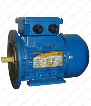 Электродвигатель с тормозом 5АИ 56 В2 ЕD (ЕТ, ЕТ1, ЕD1, ЕD2) - Лапы + Фланец (2001/2081)