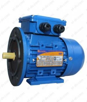 Электродвигатель с тормозом 5АИ 56 А4 ЕD (ЕТ, ЕТ1, ЕD1, ЕD2) - Лапы + Фланец (2001/2081)