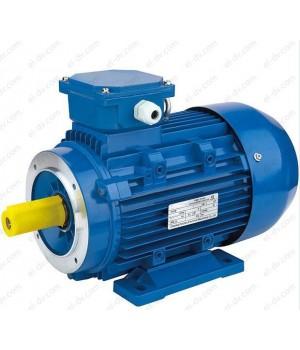Электродвигатель DIN ESQ 63A4-SDN-MC2-0.12/1500 - Лапы + Мал. фланец (B34)