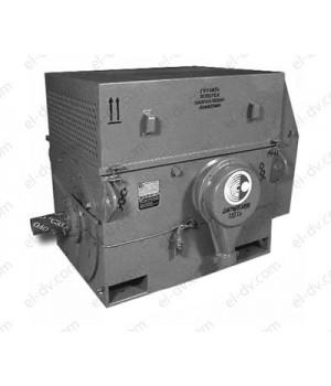 Электродвигатель высоковольтный ДАЗО4-400ХК-6У1 - Лапы (1001)