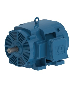 208-230/460 V 60 Hz 2P - W40 High Efficiency 10 HP IC01 - ODP - Foot-mounted