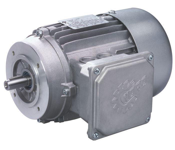 Вид одного из электродвигателей Nord